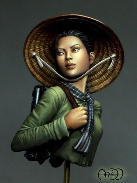 Viet Cong Guerrilla Fighter, Tet Offensive,1968