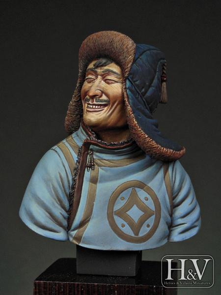 mongol rider 1241 heroes villains miniatures