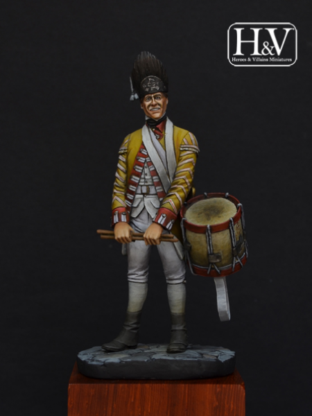 Drummer, 27 regiment, 1775