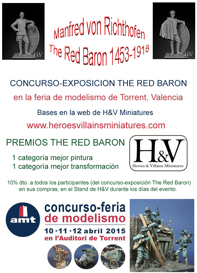Cartel concurso The Red Baron