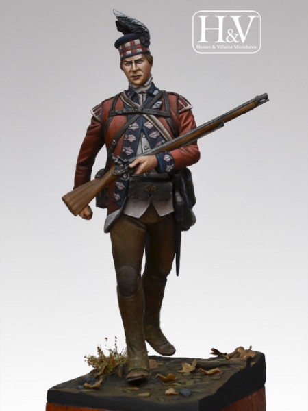 42nd Regiment of Foot 1782 Grenadier