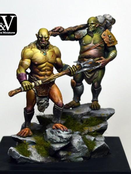 Vedrik & Dorban Orcs