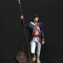 Officer, Continental Army, 1870-71