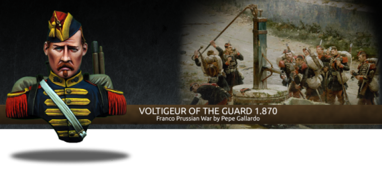 VOLTIGEUR OF THE GUARD 1870 – BUST HEROES AND VILLAINS